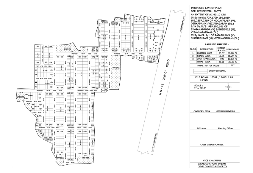 WhiteField Layout Plan