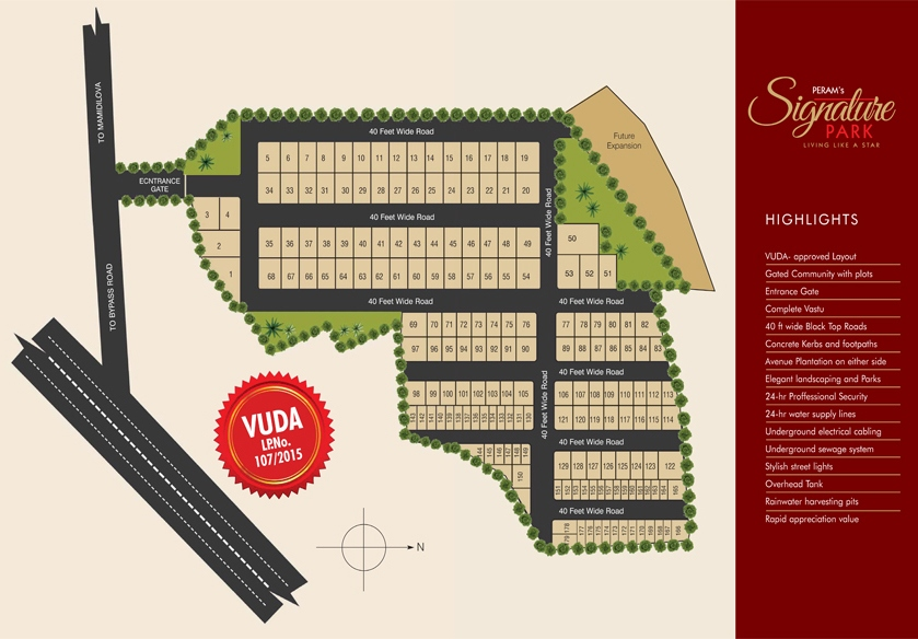 Signature Park Layout Plan