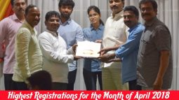 highest registrations for the month of april 2018 in old