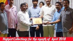 highest collections for the month of april 2018