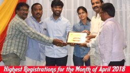 highest registrations for the month of april 2018